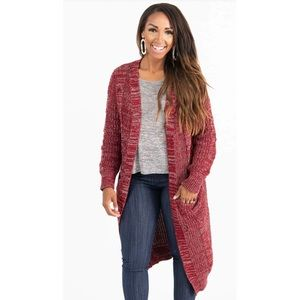 Agnes and Dora Dreamy Duster Red Brick Sz Large